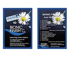 BIONC-FINISH C6 英德文版吊牌
